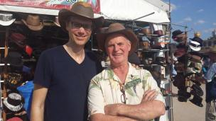 Stephen-Merchant-durban-leather-western-hat