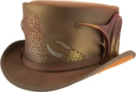 american-hat-makers-steampunk-hatter-draco-brown-scale-band-a2