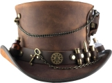 american-hat-makers-steampunk-hatter-time-port-brown-kitchen sink-band-f