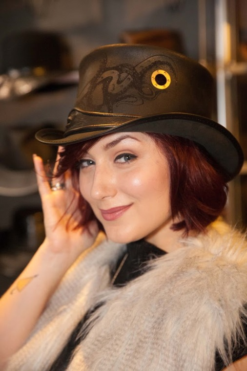Anastasia Baranoca- Z Nation- Addison Carver-American Hat Makers