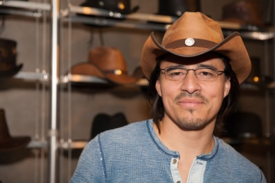 Antonio Jaramillo NBC's shades of blue- Miguel Zepeda-American Hat Makers