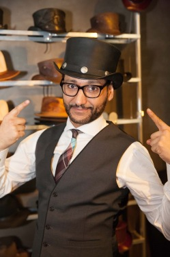 Cas Anvar- Room- Dr.Mittal - American Hat Makers