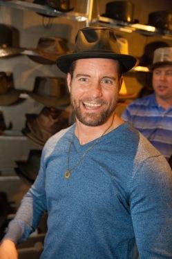 Damien Puckler NBC's Grimm - Meisner- American Hat Makers