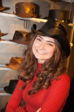 Emily Robinson- Amazon's Transparent- Young Rose- American Hat Makers