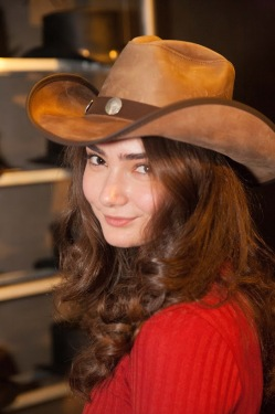 Emily Robinson- Transparent- Young Rose Ali- American Hat Makers