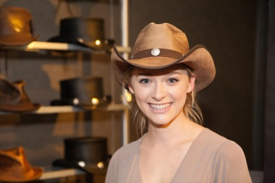 Greer Grammer- Ms. Golden Globe 2015 - American Hat Makers