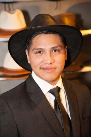 Johnny Ortiz- ABC's American Crime- Tony Gutierrez- American Hat Makers