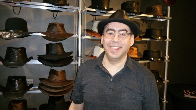 Magazine- Celebrity Buzz- Michael Prieve- American Hat Makers