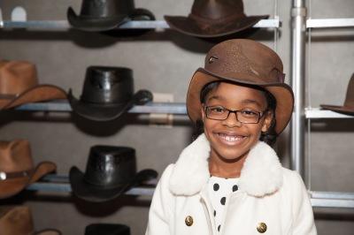 Marsai Martin- ABC's Black-ish- Diane Johnson- American Hat Makers