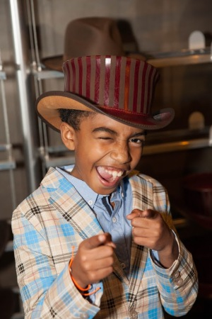 Miles Brown- ABC's Black-ish- Jack Johnson- American Hat Makers