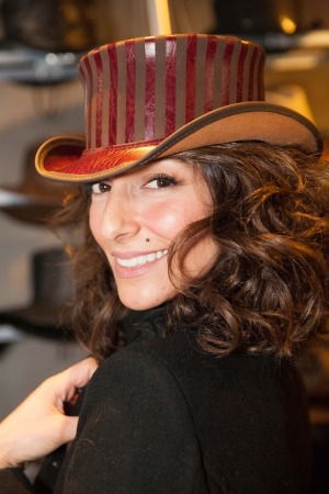 Necar Zadegan- Bravo's Girlfriends Guide to Divorce- Abby McCarthy - American Hat Makers