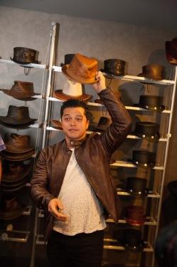 Vincent Rodriguez III- Crazy Ex Girlfriend- Josh Chan- American Hat Makers