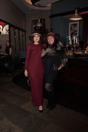 Anastasia Baranova and Hannah WAtrous American Hat MAkers