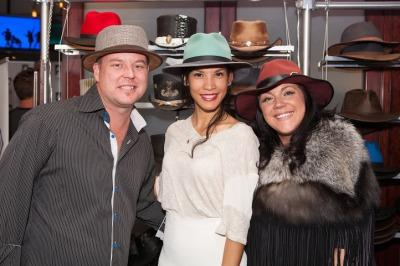 Garth Watrous Danay Garcia Hannah Watrous American Hat Makers