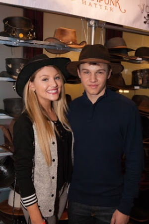 Gavin Macintosh and Brooke Sorenson American Hat Makers The Fosters