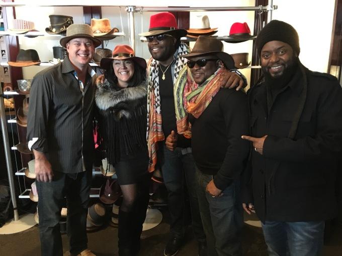 Morgan Heritage american hat makers