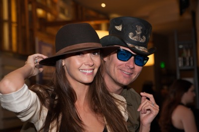 Olga Fonda and Liam Waite Vampire Diaries American hat Makers