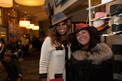 Yolanda Adams and Hannah Watrous American hat Makers