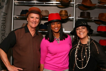 Garcelle Beauvais - Barbershop The Next Cut - American Hat Makers - Hannah Duff Watrous