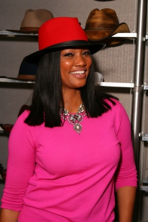 Garcelle Beauvais - Barbershop The Next Cut - American Hat Makers