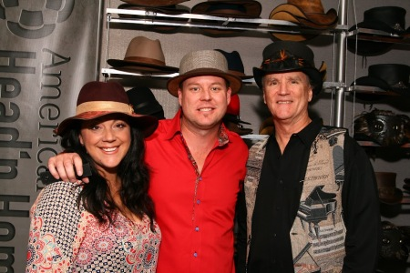 Hannah, Garth and Duff Watrous American Hat Makers