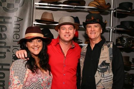 Hannah, Garth and Duff Watrous American Hat Makers