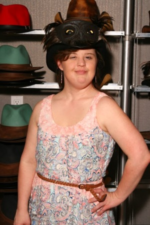 Jamie Brewer - American Horror Story - American Hat Makers - Wisdom Hat