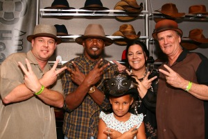 Jamie Foxx Americann Hat Makers
