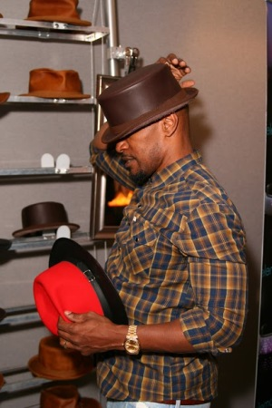 Jamie Foxx - Bromley - American Hat Makers