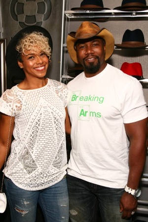 Michael Jai White and Gillian White - American Hat Makers -