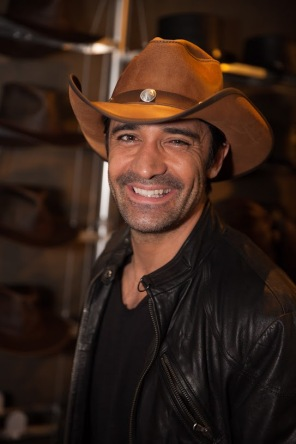 Gilles Marini wearing American Hat Makers Hat (2)