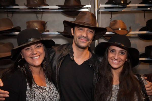Gilles Marini wearing American Hat Makers Hat  (7)
