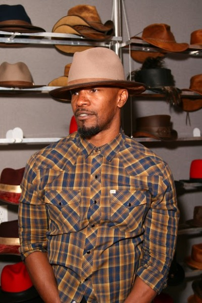 jamie-foxx-american-hat-makers-summit-light-brown