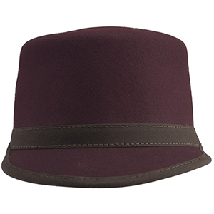 No matter your destination, this hat – just like its namesake - can be counted on to make sure your outfit is on time and on point. Whether you are looking to dress up a casual, everyday ensemble or want to bring your suit up to first class, the Conductor will get you there. With lush felt and stylish leather finishing, this hat makes sure you travel in style.