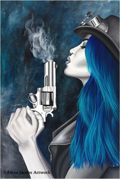 alexa jacobs gun hat