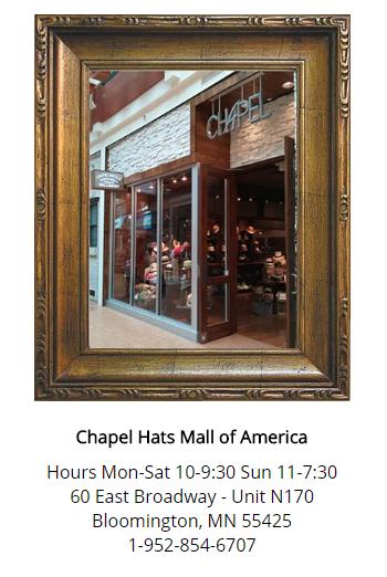 193c68cc552 Check out Chapel Hats! You won t regret it!